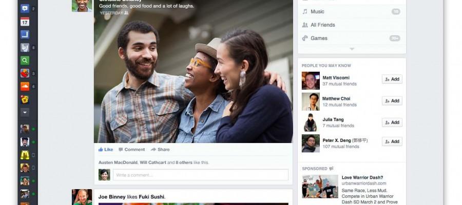 Facebook yeni tasarımıyla gelen içerik resim boyutları