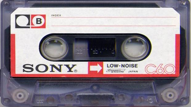 Sony'den manyetik kaset