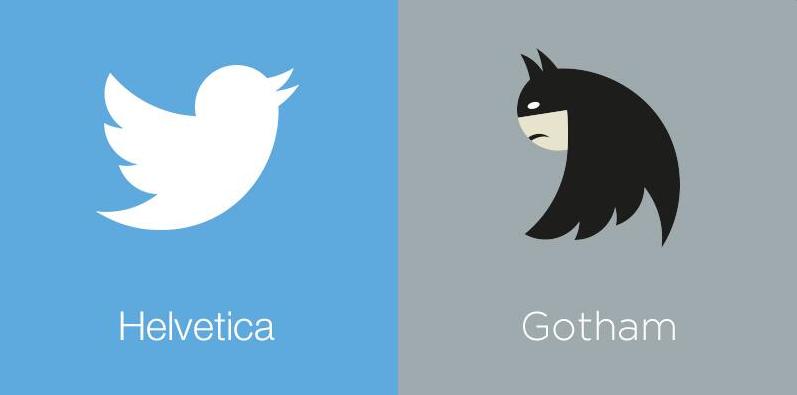 Twitter'ın Yeni fontu:Gotham
