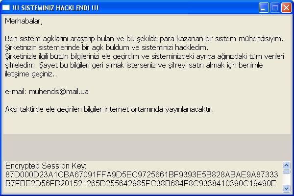 Şantajcı Yazılım ve TTNet Phising